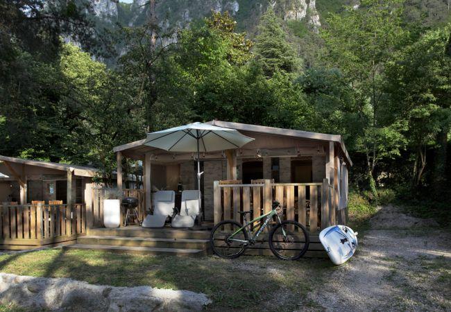 Bungalow a Idro - Safari Lodge Comfort